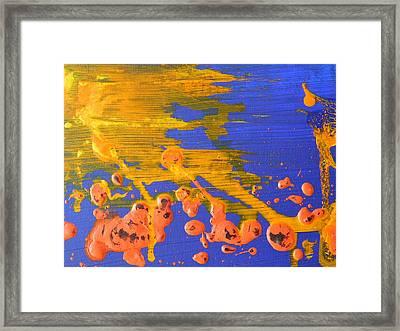 Solar Flares Framed Print by Susan Wooler