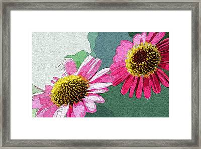 Solar Flowers Framed Print by Mitchell Gibson