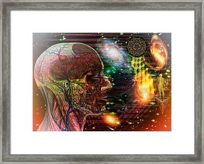 Solar Insight Of Framed Print