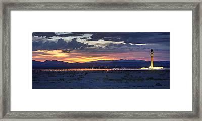 Solar Power 24/7 Framed Print