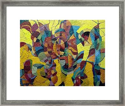 Solar Regatta Framed Print