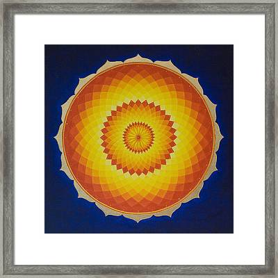 Solar Space Framed Print