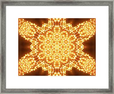 Solar Telepathy Framed Print by Filip Klein