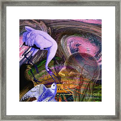 Solar Whisper Winds Of Change Framed Print