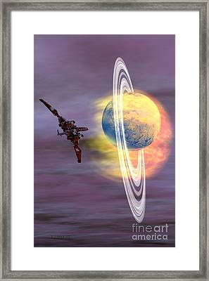 Solar Winds Framed Print by Corey Ford