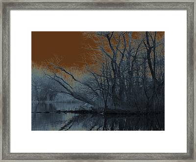 Solarization Framed Print