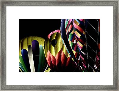 Solarized Balloons Framed Print by David Patterson