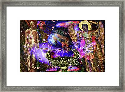 Solarlife Emotion Framed Print by Joseph Mosley