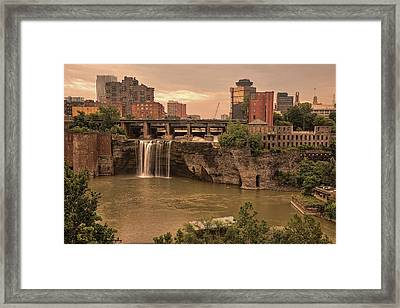 Sold - Good Morning Rochester - Thank You Framed Print by Hany J