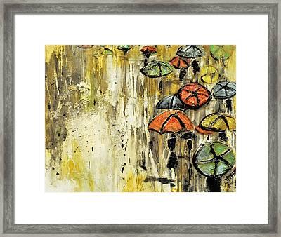 Sold Under The Weather Framed Print by Amanda  Sanford