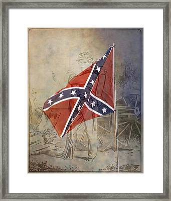 Soldier Boy Framed Print