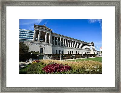 Soldier Field Chicago Bears Stadium Framed Print