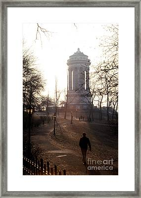 Soldiers And Sailors Monument Framed Print