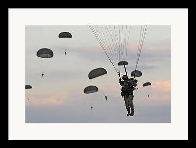Combat Gear Framed Prints