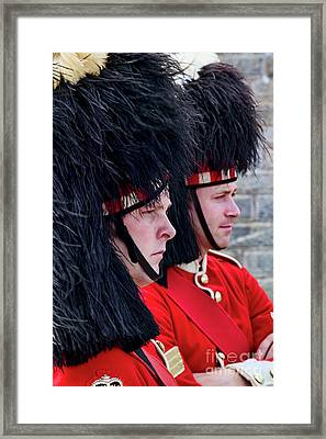 Soldiers Framed Print by Scott Kemper