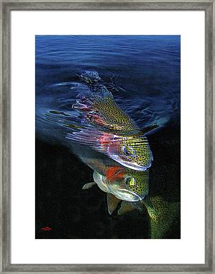 Sole Mates Framed Print by Brian Pelkey