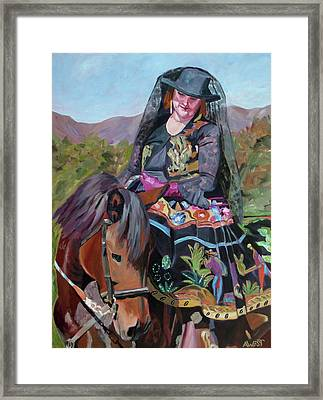 Solecita's Pride Framed Print by Anne West