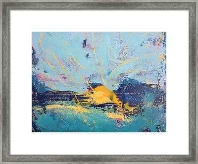 Soleil De Joie, Extrait Framed Print