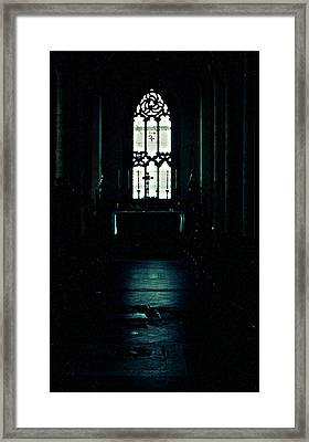 Solemnity Framed Print