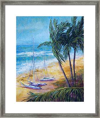 Soliman Bay Framed Print by Candy Mayer