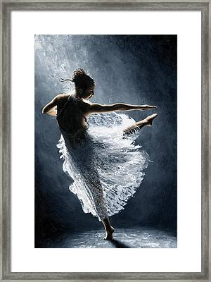 Solitaire Framed Print by Richard Young