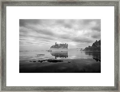 Solitary Beach Framed Print