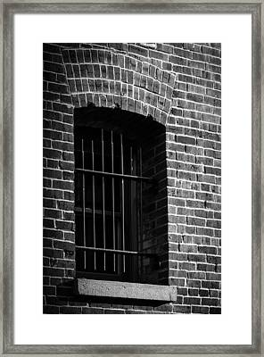 Solitary Confines Framed Print
