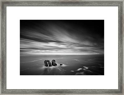 Solitary Conversation  Framed Print