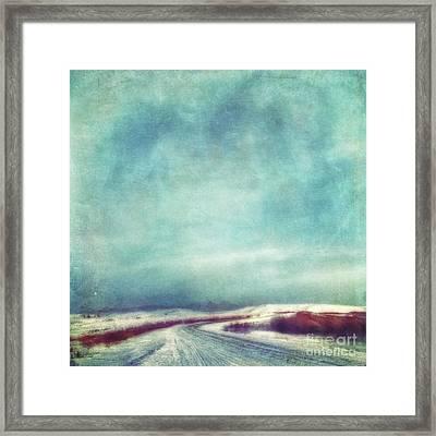 Solitary Journey Framed Print by Priska Wettstein