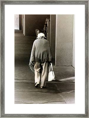 Solitary Lady Framed Print by Don Gradner