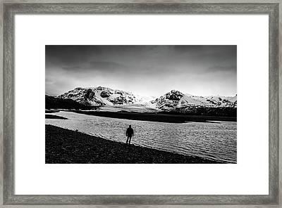 Solitary Man Framed Print