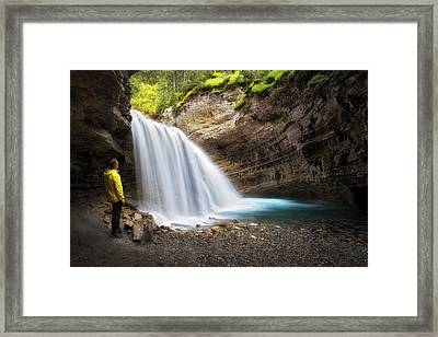 Solitary Moment Framed Print