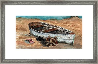 Solitary Framed Print by Penny Everhart