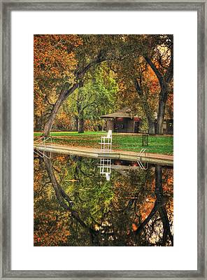 Solitary Reflection Framed Print by Cathy Frost