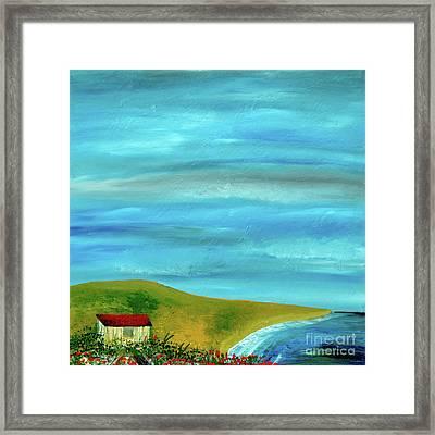 Solitary Sky's Framed Print