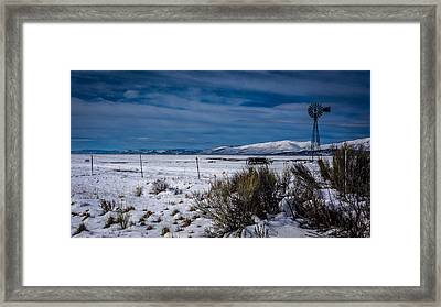 Solitary Stand Framed Print