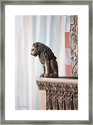 Solitary Watch Framed Print by Christopher Holmes
