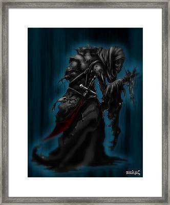 Solitiary Reaper Framed Print by Rahul Chakraborty