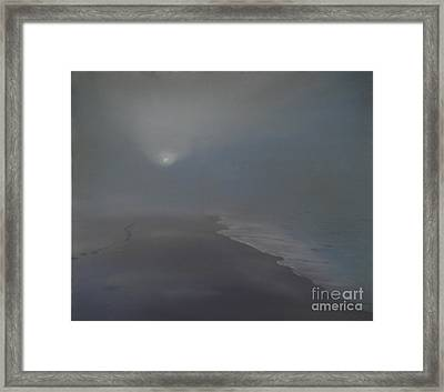 Solitude 1 Framed Print by Katerina Wert
