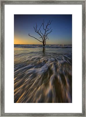 Solitude At Botany Bay Framed Print