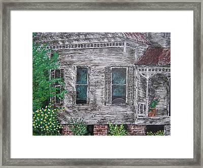 Solitude Awaits Framed Print by Ricklene Wren