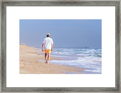 Framed Print featuring the photograph Solitude by Keith Armstrong