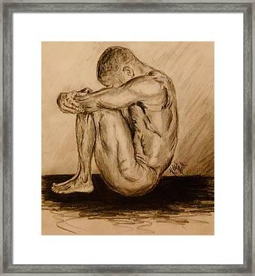 Solitude Framed Print by Kelci Pauk