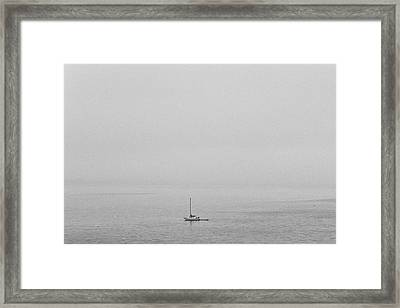 Framed Print featuring the photograph Solitude by Lora Lee Chapman