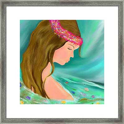Solitude Framed Print by Lori  Lovetere