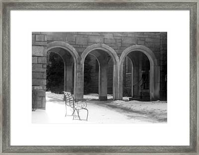 Framed Print featuring the photograph Solitude by Margie Avellino