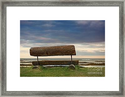 Framed Print featuring the photograph Solitude.. by Nina Stavlund