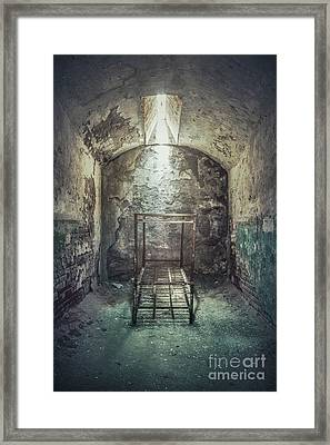 Solitude Of Confinement Framed Print by Evelina Kremsdorf
