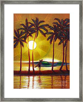 Solitude Framed Print by Patrick Parker
