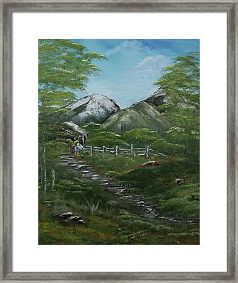 Solitude  Framed Print by Robin Lee
